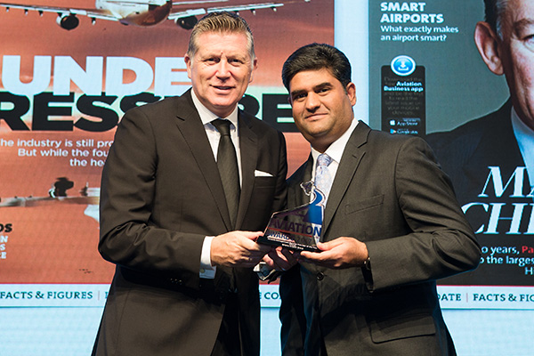 Empire Aviation Group wins Middle East `Aircraft Management Service Provider of the Year` 2017