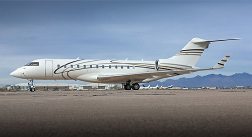 Empire Aviation Group, the Dubai-based aviation asset management company, inducts Bombardier Global Express XRS to the company's global managed fleet of business jets