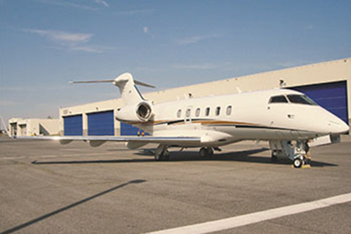 Empire Aviation takes first business jet under management in India