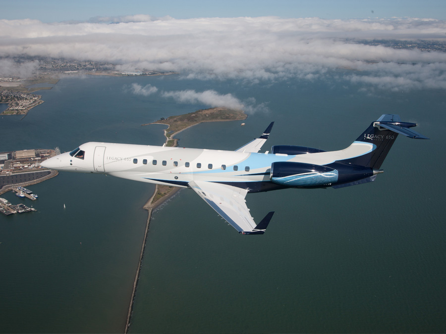 Empire Aviation Group inducts new Embraer Legacy 650 business jet in Oman
